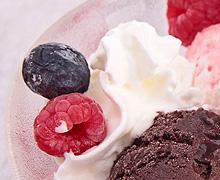 Ice Cream and Whip cream